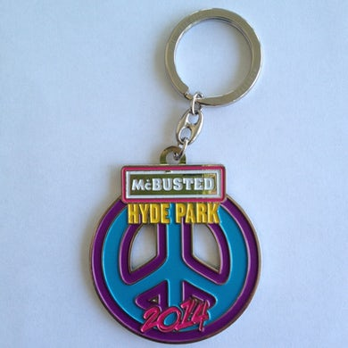 McBusted Hyde Park 2014 Key Ring