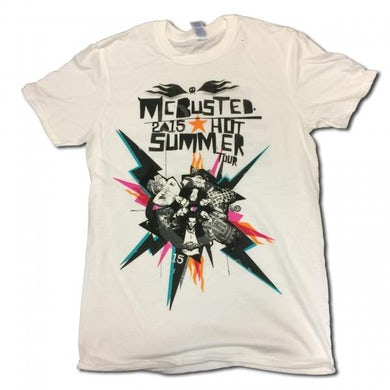 McBusted 2015 White Tour T-Shirt