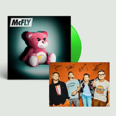 McFly Young Dumb Thrills Green Vinyl