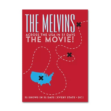 Melvins Across The USA In 51 Days: The Movie! DVD