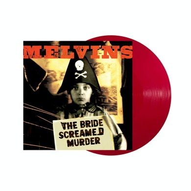 The Bride Screamed Murder Opaque Apple Red VInyl Vinyl