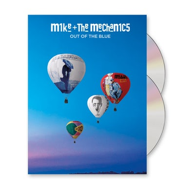 Mike + The Mechanics Out Of The Blue Deluxe CD Album (Signed) Deluxe CD