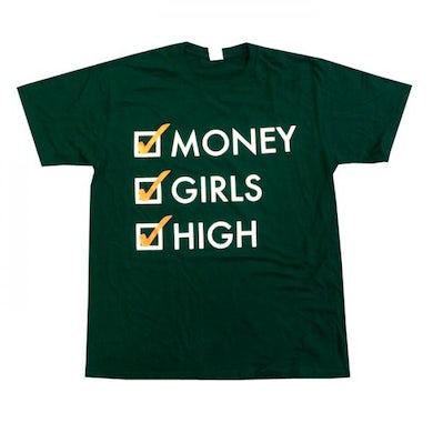 Mindless Self Indulgence Money, Girls, High T-Shirt