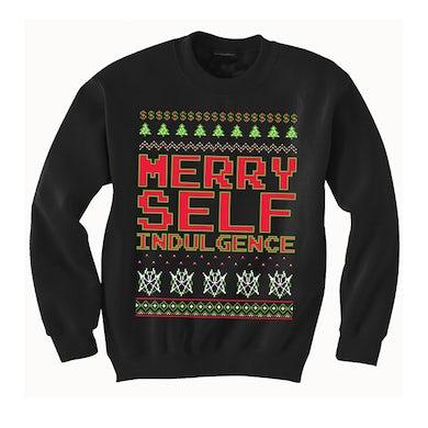Mindless Self Indulgence Merry Self Indulgence Sweatshirt (Black)