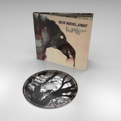 New Model Army SIGNED Winter Hardback CD Album CD