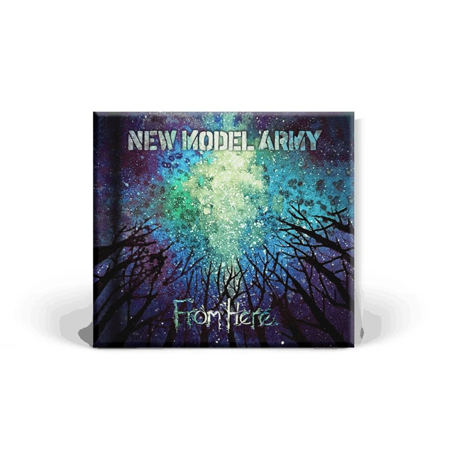 New Model Army From Here CD