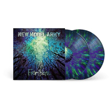 New Model Army From Here Splattered Signed Double LP (Vinyl)