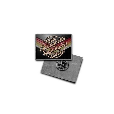 Noel Gallagher Chevron Enamel Pin Badge