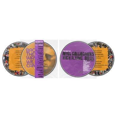 Noel Gallagher Back The Way We Came: Vol 1 (2011 - 2021) Double Heavyweight Picture Disc (Exclusive) Double LP (Vinyl)
