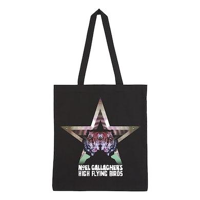 Noel Gallagher Black Star Dancing Tote Bag