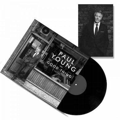 Paul Young Good Thing (with Signed Photograph) LP (Vinyl)