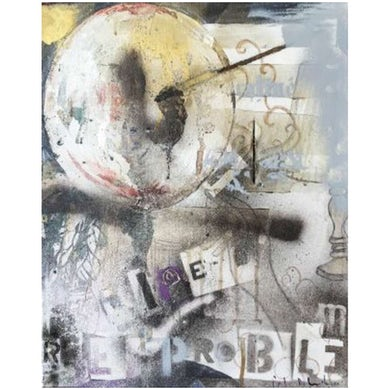 Peter Doherty 'Poet Globe' Fine Art Print