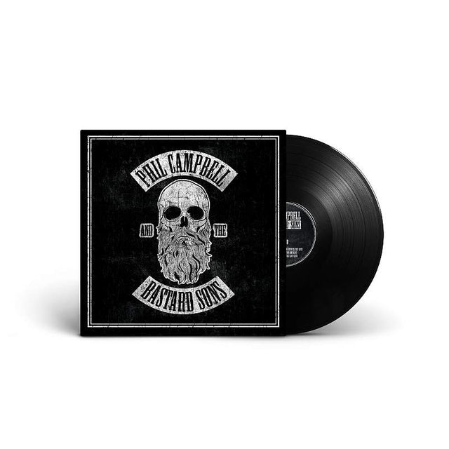 Phil Campbell and the Bastard Sons Signed Black Vinyl with download Heavyweight LP