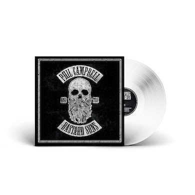 Phil Campbell and the Bastard Sons Signed White Vinyl with download  Heavyweight LP