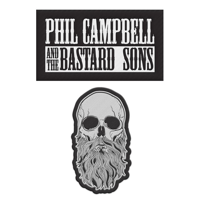Phil Campbell and the Bastard Sons 2 x Bastard Sons Sew On Patches