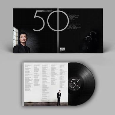 Rick Astley 50 LP (Vinyl)