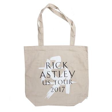 Rick Astley US Tour 2017 Tote Bag