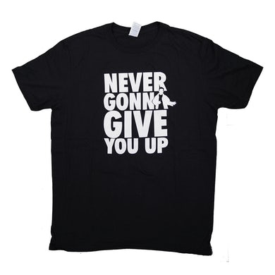 Rick Astley Never Gonna Give You Up 2016 Tour T-Shirt