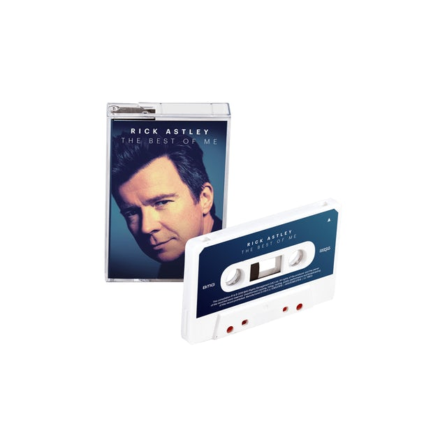 Rick Astley The Best Of Me White Cassette (Exclusive) Cassette