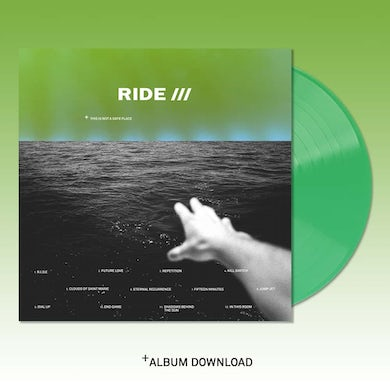Ride This Is Not A Safe Place Limited Edition Green  Double LP (Vinyl)