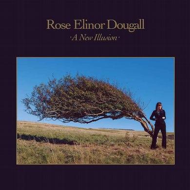 Rose Elinor Dougall A New Illusion Transparent Blue  LP (Vinyl)