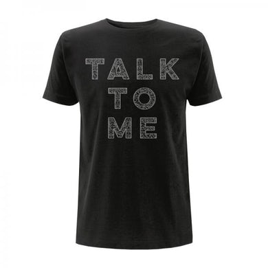 Saint Anthony Talk To Me Black T-Shirt