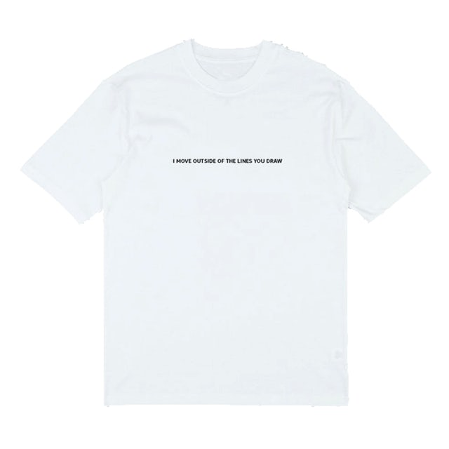 Sarah Close Lines You Draw Embroidery T-Shirt