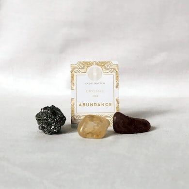 Sasha Siem Sound Sanctum Crystals For Abundance