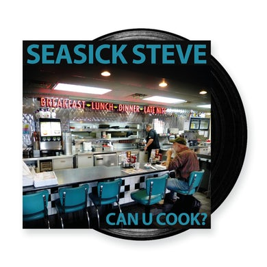 Seasick Steve Can U Cook? Black Heavyweight LP (Vinyl)