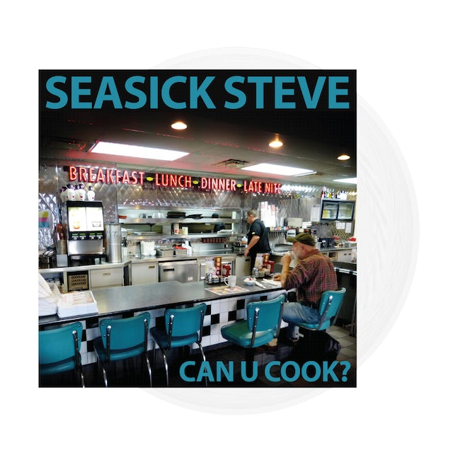 Seasick Steve Can U Cook? Clear Heavyweight LP (Vinyl)