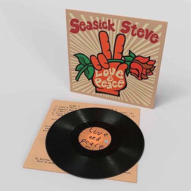 Seasick Steve Love & Peace Vinyl