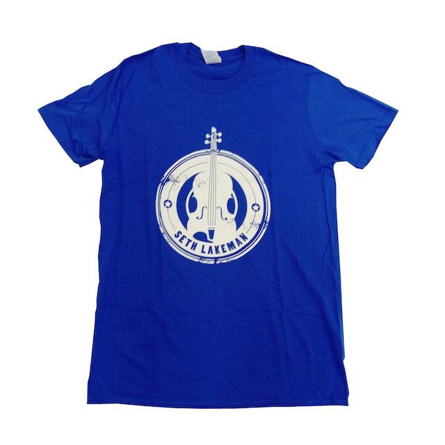 Seth Lakeman Blue Violin T-Shirt