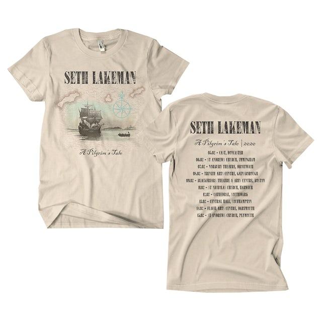 Seth Lakeman A Pilgrim's Tale T-Shirt