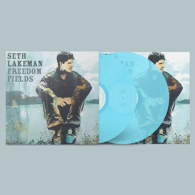 Freedom Fields (15th Anniversary Deluxe Edition) Curacao Blue 2LP (Ltd Edition) Double Vinyl