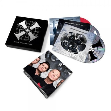 Simple Minds Big Music Deluxe Box Set (Limited Edition) CD/DVD
