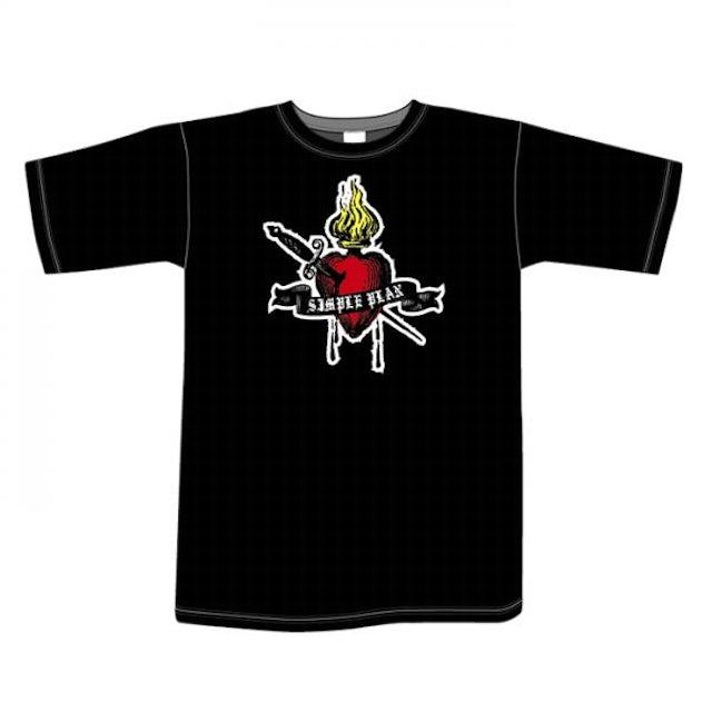 Simple Plan Fireheart T-Shirt