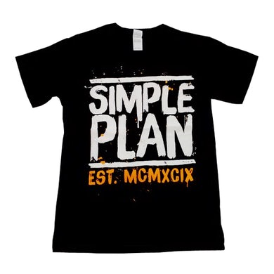 Simple Plan Roman Numerals T-Shirt