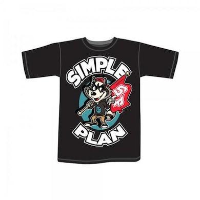 Simple Plan Raccoon T-Shirt