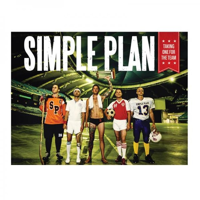Simple Plan A2 Taking One For The Team Poster