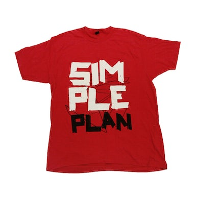 Simple Plan Red Tape T-Shirt