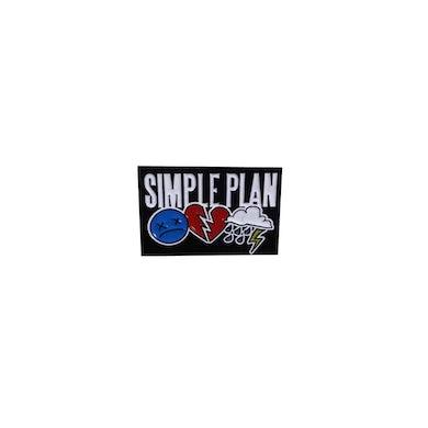 Simple Plan Pin Badge