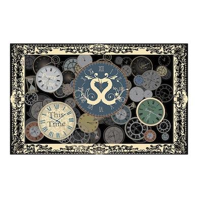 Sound Of The Sirens Clock Tea Towel