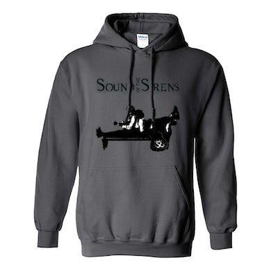 Sound Of The Sirens Grey Silhouette Pullover Hoodie