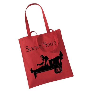 Sound Of The Sirens Red Tote Bag