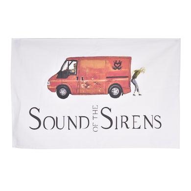 Sound Of The Sirens Roger The Van Tea Towel