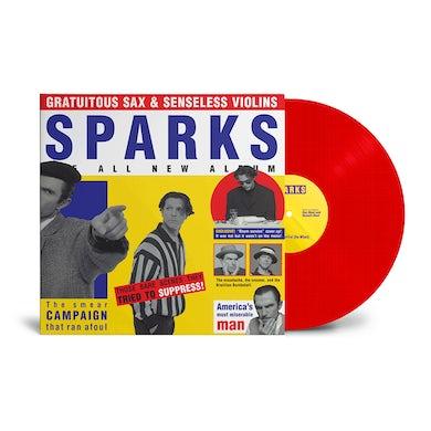 Sparks Gratuitous Sax & Senseless Violins Red LP (Vinyl)