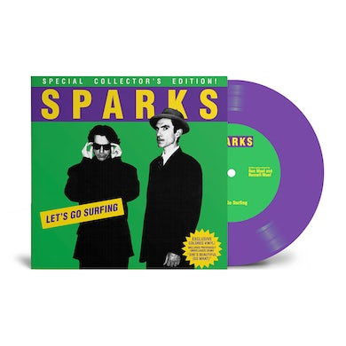 Sparks Let's Go Surfing/She's Beautiful (So What) 7-Inch 7 Inch