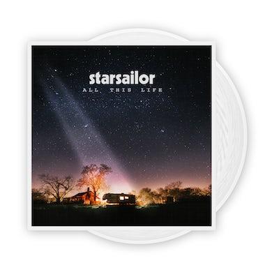 Starsailor All This Life White Vinyl LP (Exclusive) (Signed) LP