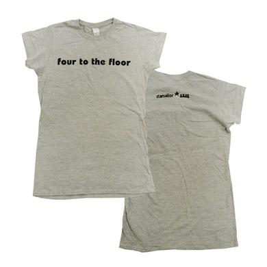 Starsailor Four To The Floor Ladies T-Shirt