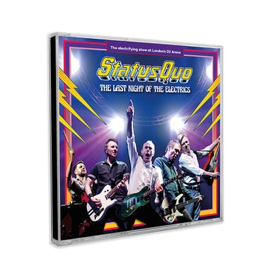 Status Quo The Last Night Of The Electrics CD